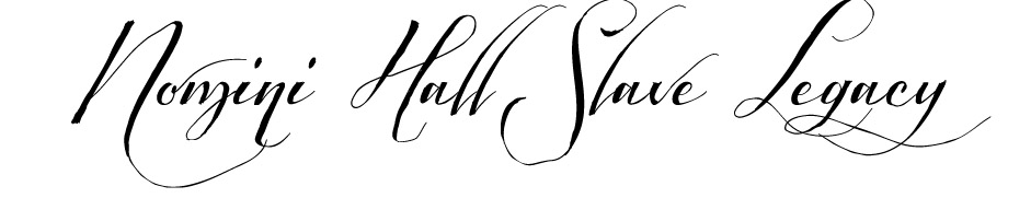 Nomini Hall Slave Legacy Logo